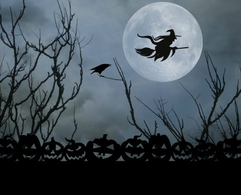 halloween-witch-full-moon